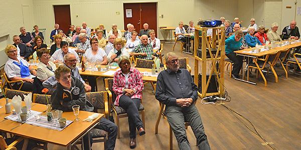 Ett 70-tal personer var samlade till PRO-föreningens möte i Målilla.