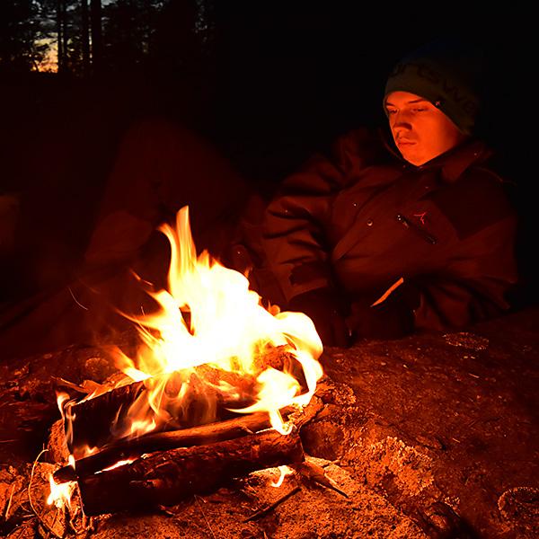 2015-09-26 Grillning vid Bogöl 2
