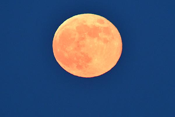Fullmåne i perfekta förhållanden