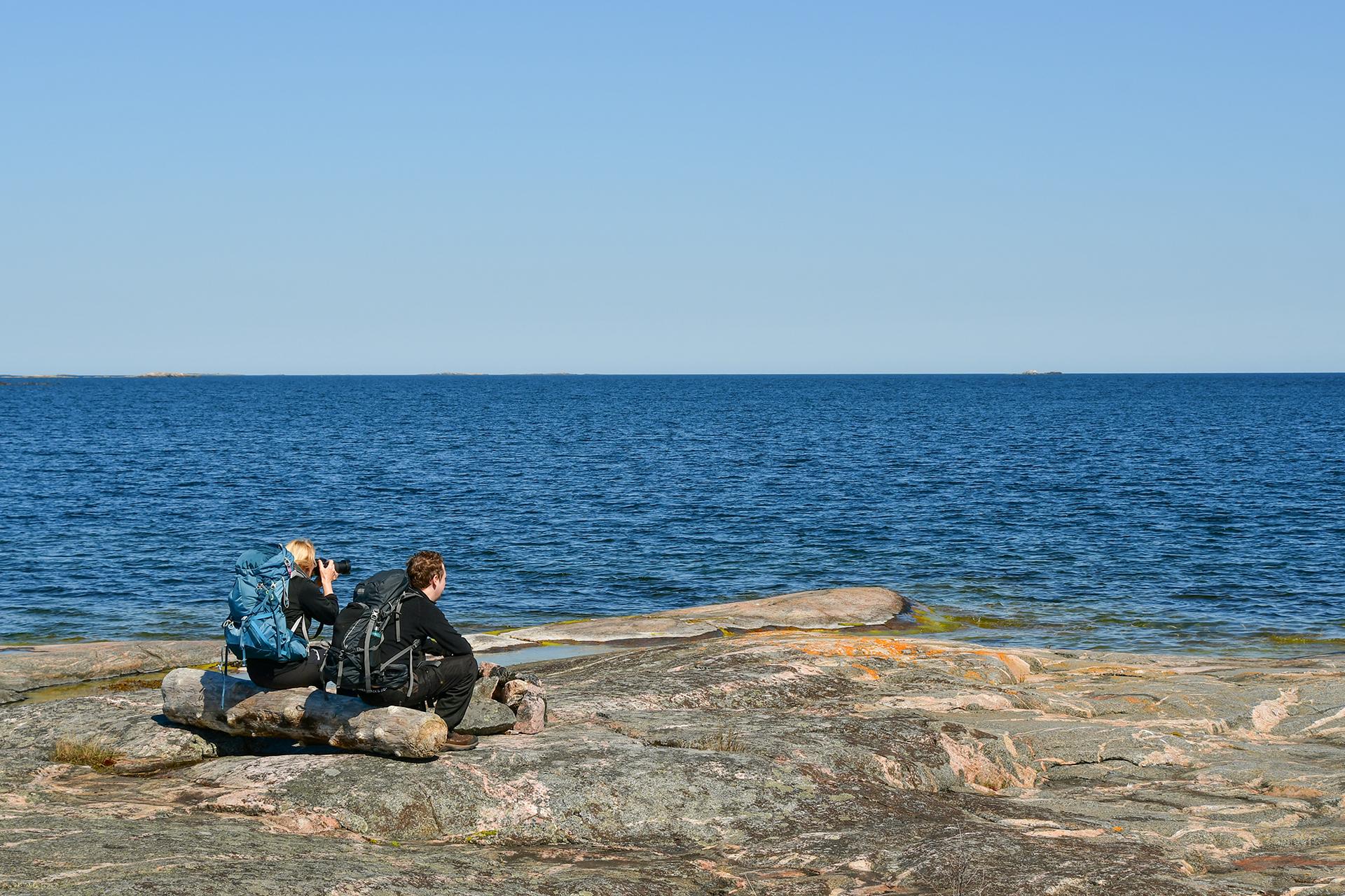 Vandring i Åsvikelandets naturreservat